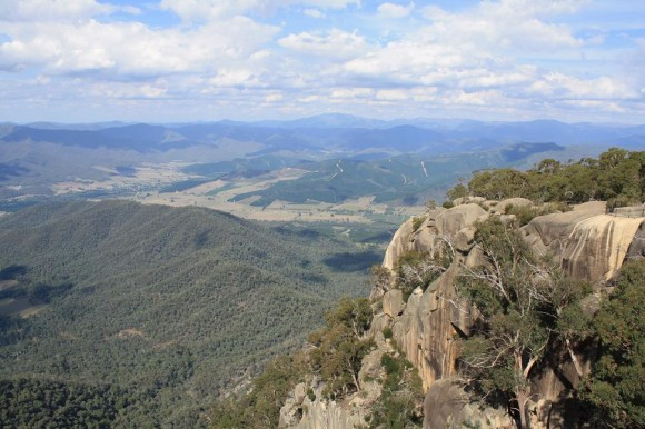 View from the Mt. Buffalo climb.