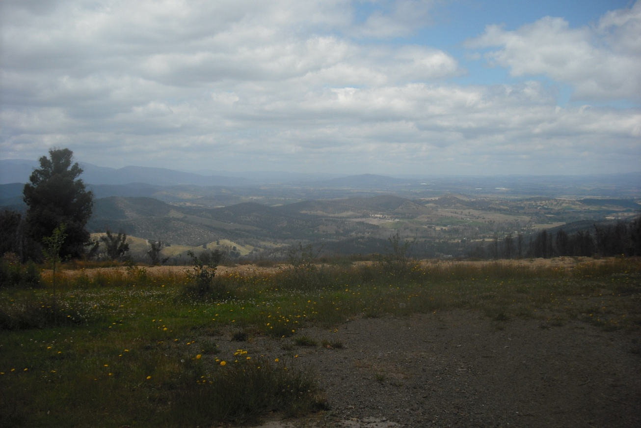 The view from Kinglake