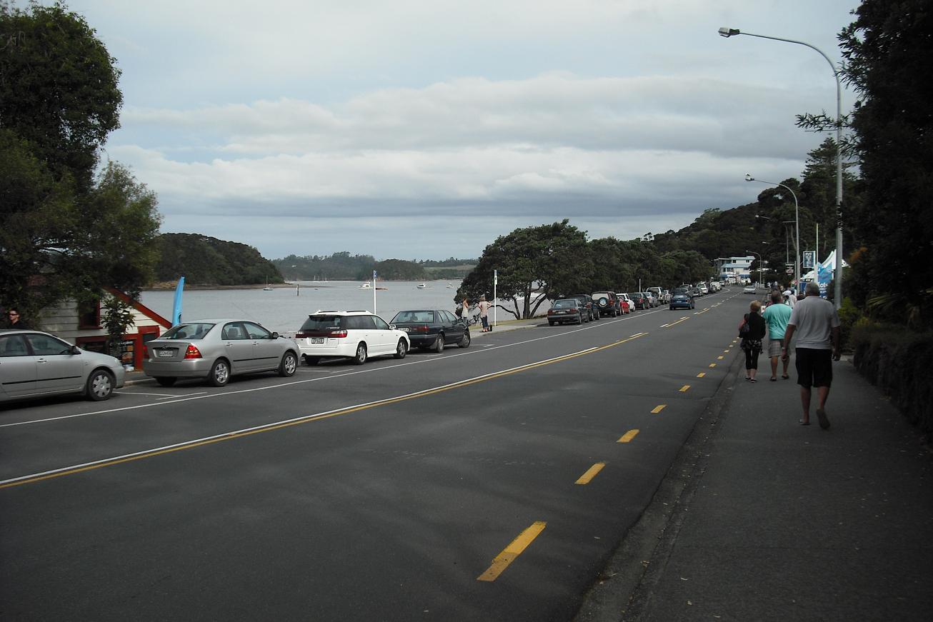 Paihia main street