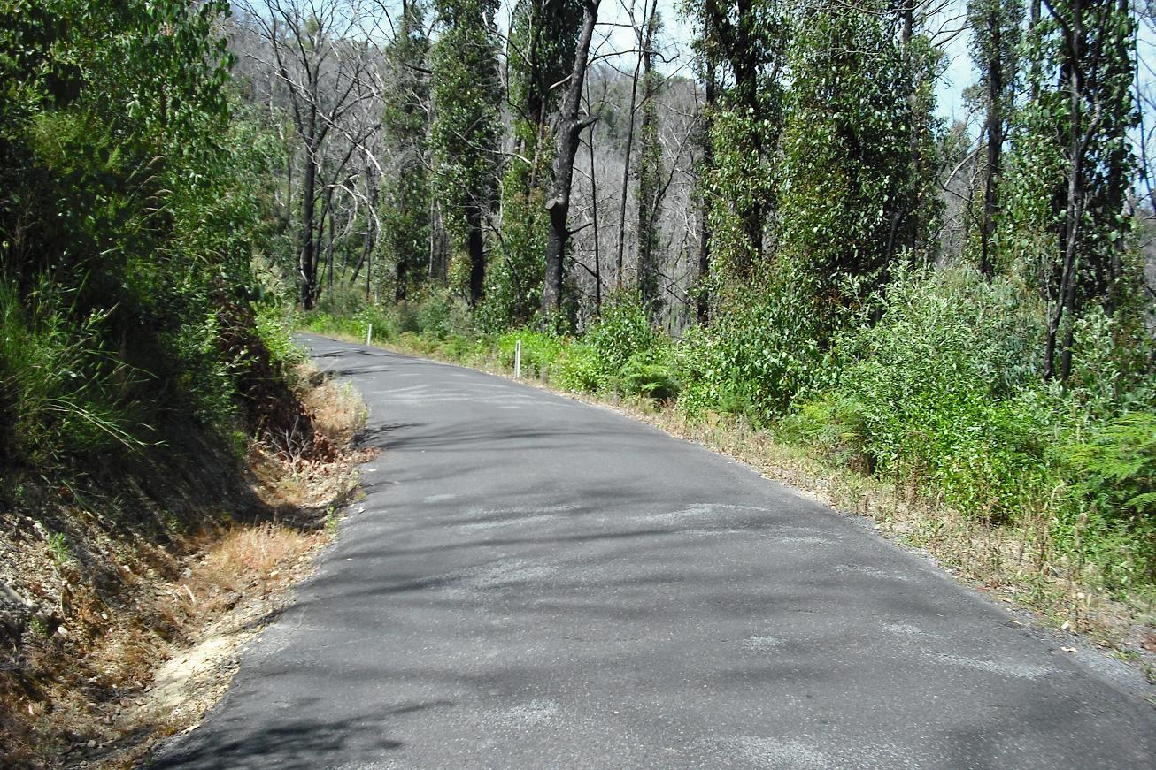 Humevale Road climb