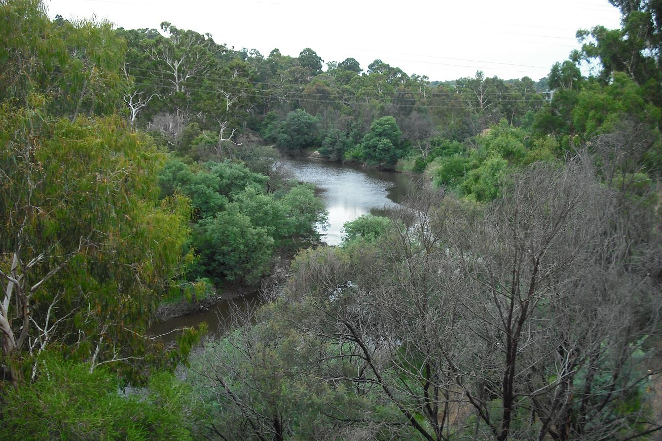 View of the Yarra River