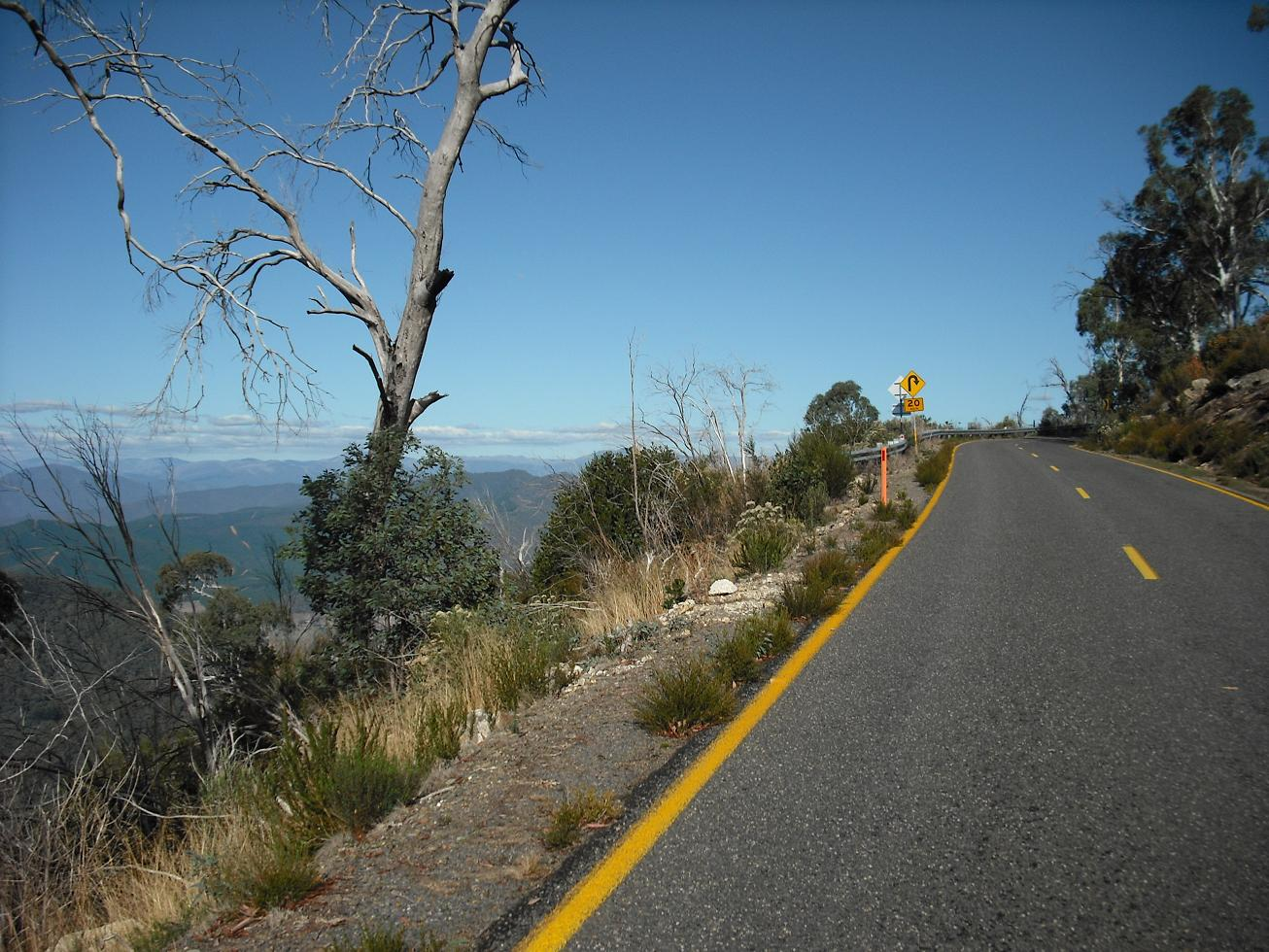 View from the Mt. Buffalo climb