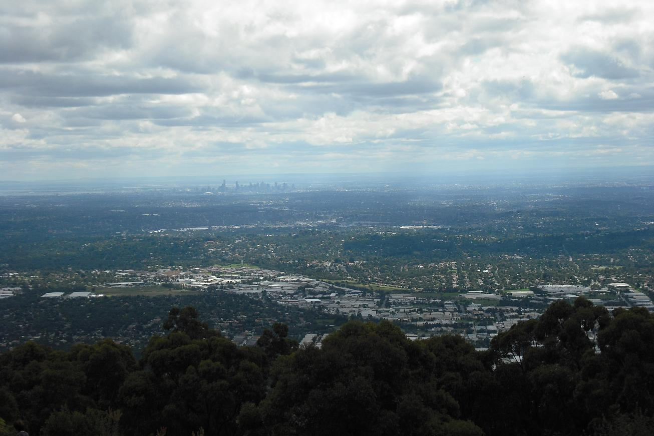 View from Sky High, Mt. Dandenong