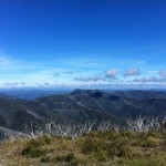 Awesome views from the Mt. Hotham climb.
