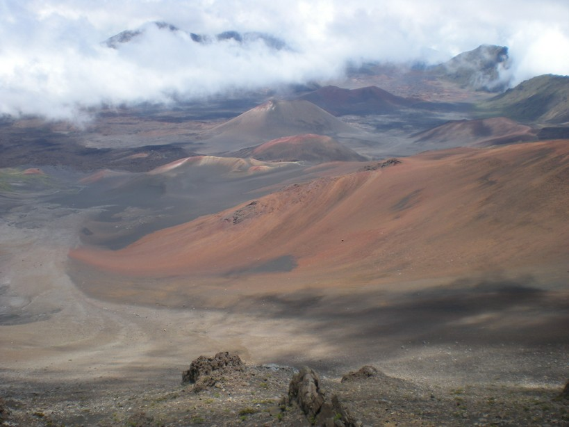 View from the climb to Haleakala (Image: ruce Carlson)