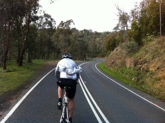 On the way to Kinglake.