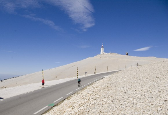 Mont Ventoux's moonscape is one of the most recognisable summit's in world cycling.