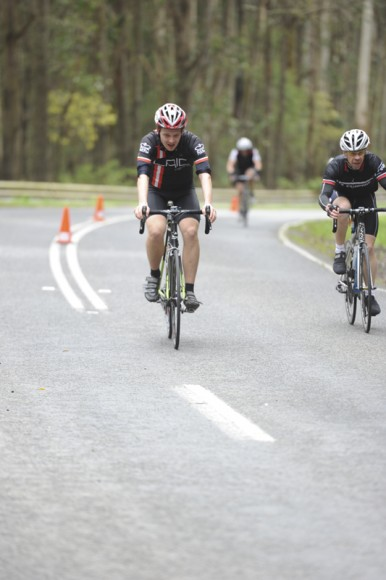 Yours truly approaching the finish line. (Image: Epsom Rd Studios)
