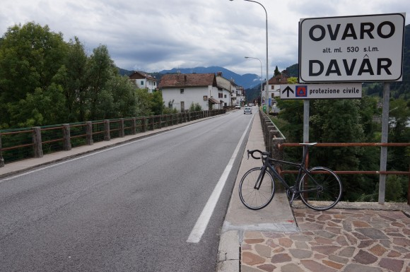 The climb from Ovaro is one of three approaches to Monte Zoncolan.