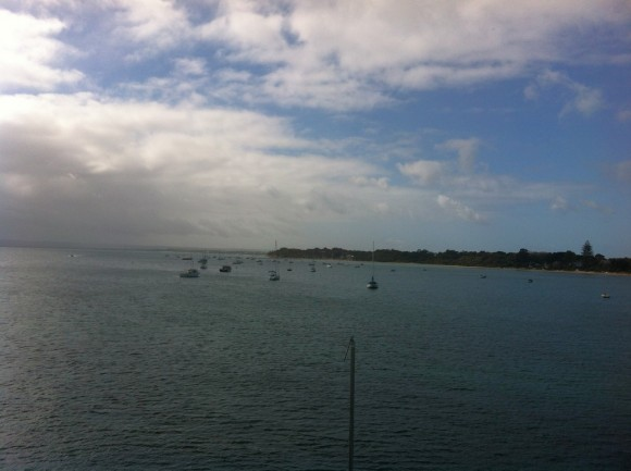 View from the Sorrento to Queenscliff ferry.