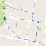 Shane Miller's Yarra Street climb loop.
