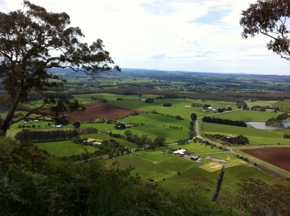 Views from Mt. Buninyong.