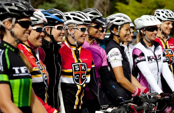 So good to see so many women on the mountain.  (Image: Kirsten Simpson)