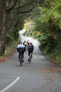 It's hard enough climbing Mast Gully Road once, let alone 6 times! (Image: Luke Yeatman)