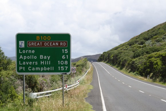 You know it's a long ride when Port Campbell is only a fraction of the way there.