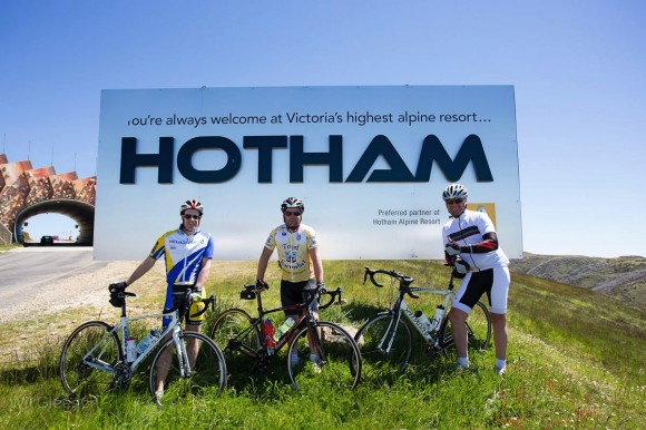 There are few climbs in the state more satisfying to finish than Mt. Hotham. (Image: Wil Gleeson)