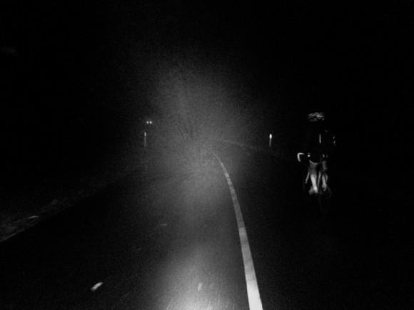 Fog bank.