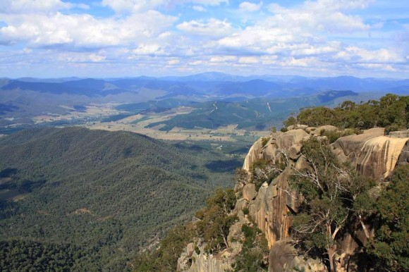 The new route mightn't have Mt. Hotham, but it does have Mt. Buffalo.
