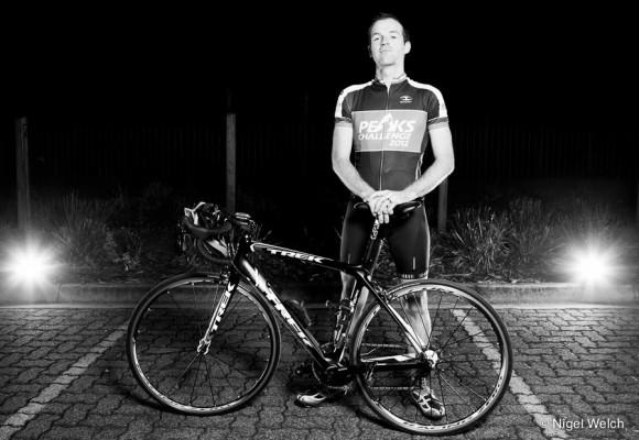 Matt Wearne: rock star on wheels. (Image: Nigel Welch)