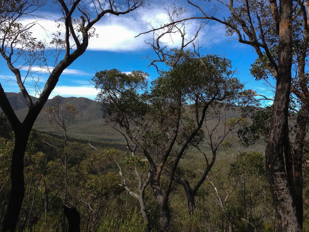 Views from the Mirranatwa Gap.