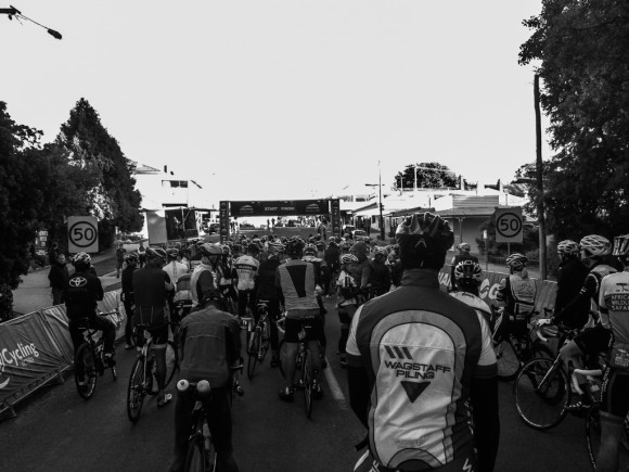 It was a small field for the 173km Gran Fondo, but it will only grow in the years to come.