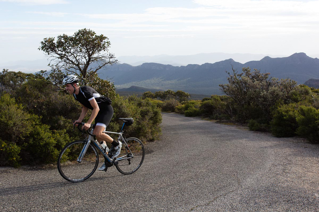 I think this might be the first time I've seen Evan in any discomfort on the bike. (Image: Wil Gleeson)