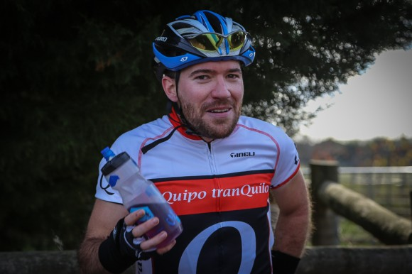 Marcus after winning stage 3. (Image: Sharon Ridgway)