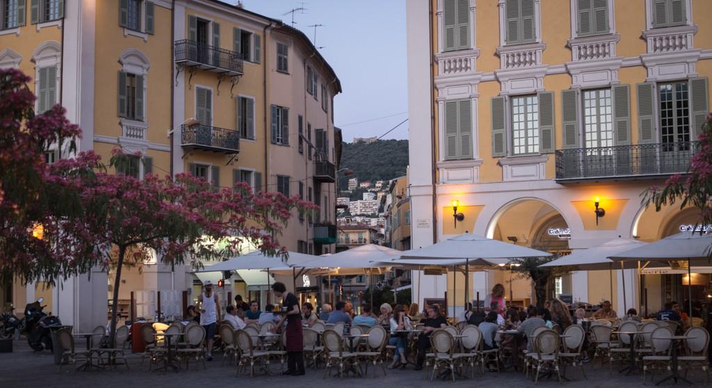 Restaurant in Nice.