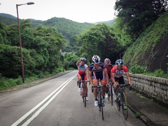 The pace was considerably more friendly on the climb up from Wong Shek Pier.