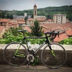 Riding with pros and ex-pros in Varese, Italy