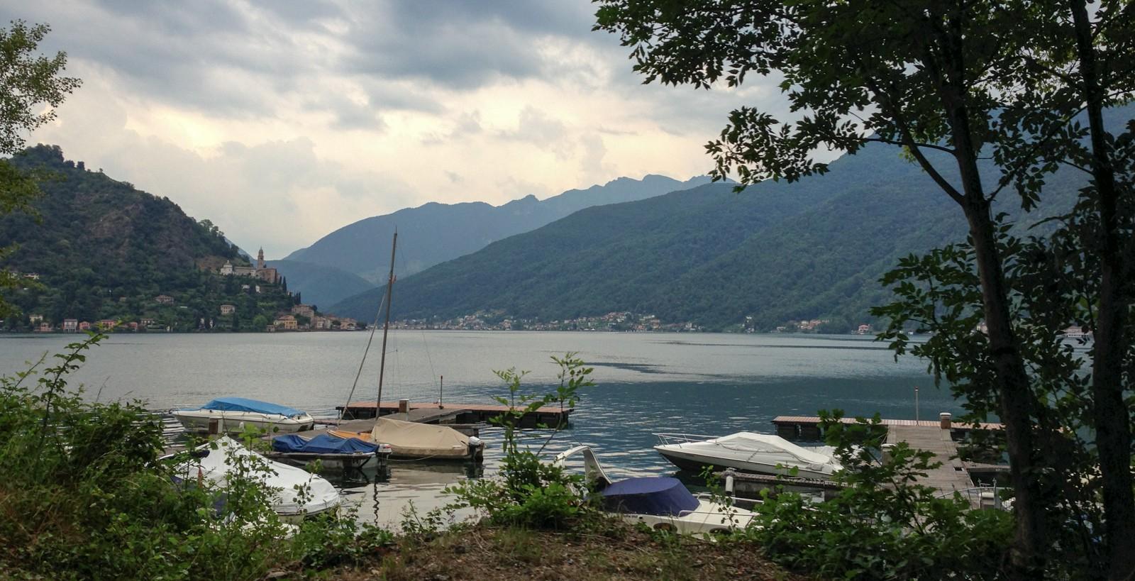 Lake Lugano.