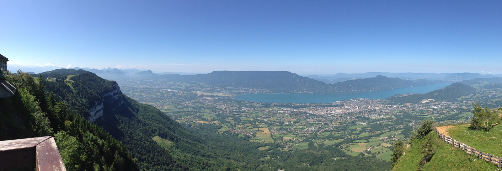Panorama from Mont Revard.