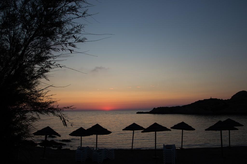 Corsican sunset. Bliss.