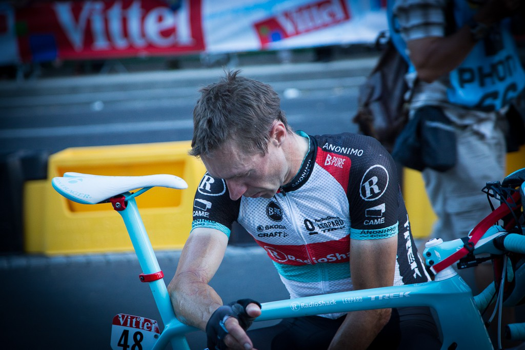 Jens Voigt was a broken man when he crossed the finish line on the Champs Elysees. He's almost certainly raced his last Tour de France.