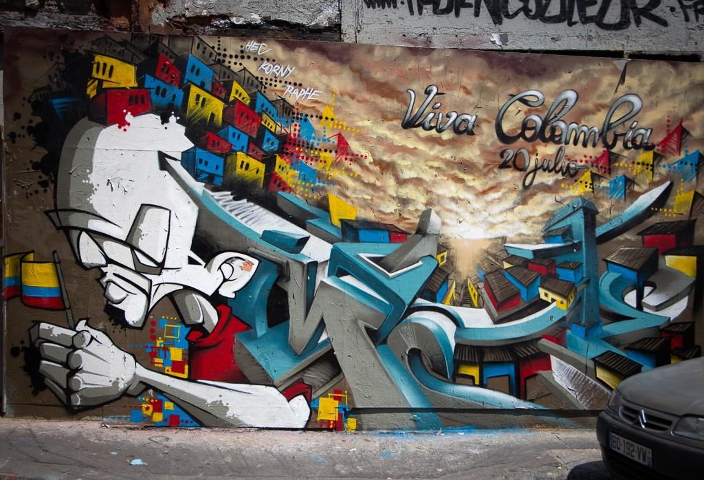 Parisian street art.