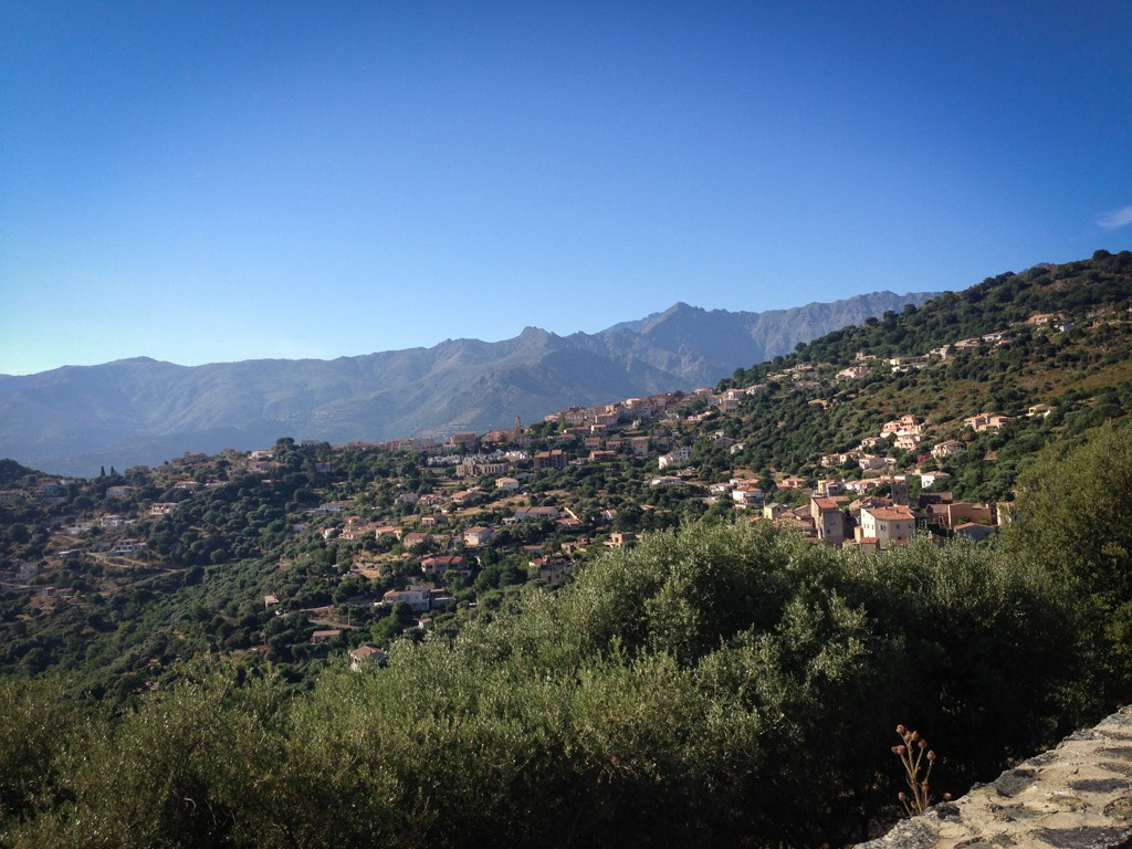The next nine photos were all taken while riding in Corsica.
