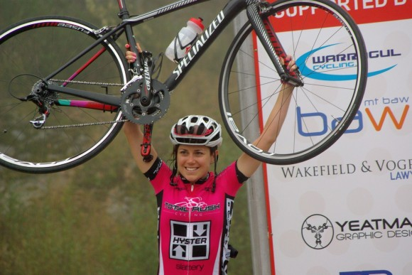Verita tasted early-season success with a win in C grade at the Mt. Baw Baw Classic.