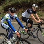 A ride with Simon Gerrans and 'racing' up Mt. Buller