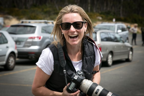The woman behind the lens: Kirsten Simpson. (Image: Sharon Ridgway)