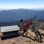 Mountain biking at Mt. Buller