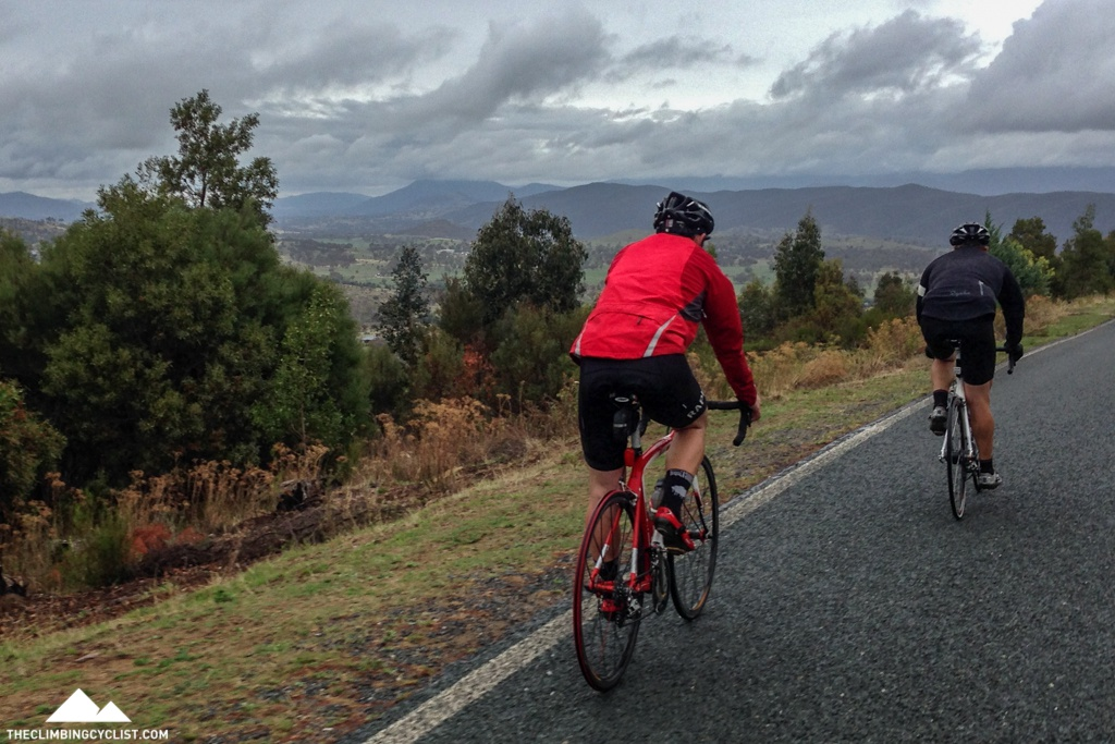 Views from the Stromlo climb.