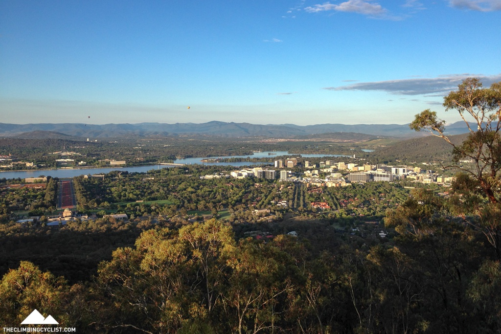 View from Mt. Ainslie.