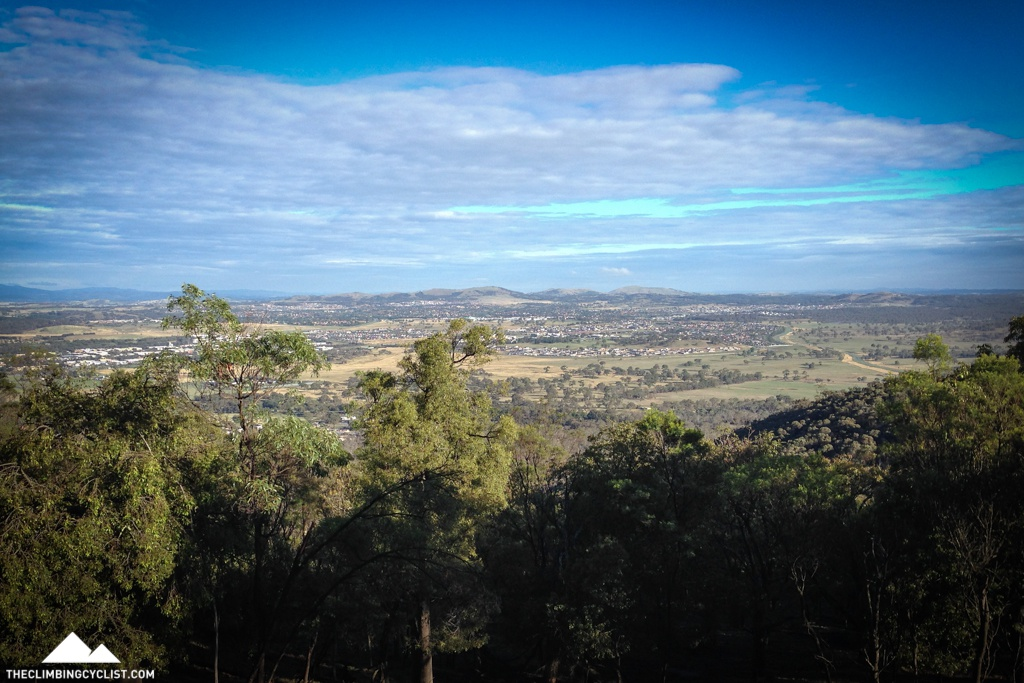 View from Mt. Majura.