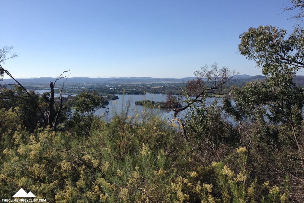 View from the slopes of Black Mountain.