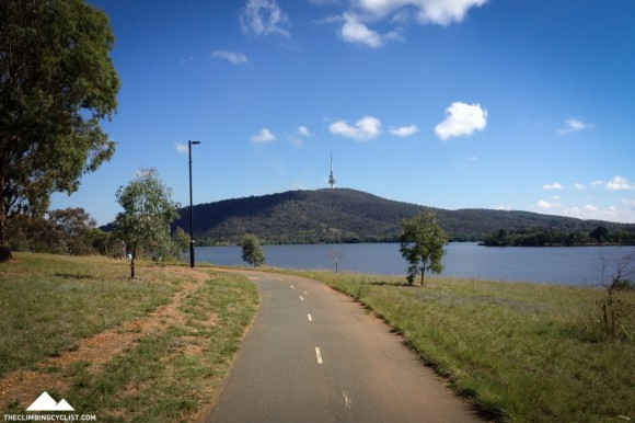 The sight of the Telstra Tower is near constant as you make your way around Canberra.