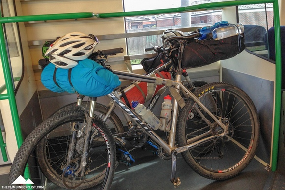 With the bikes packed on the train it was time to head home to Melbourne.