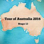 Tour of Australia 2014: stage 13