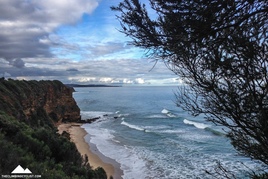 Views from the Aireys Inlet cliff-side walk.