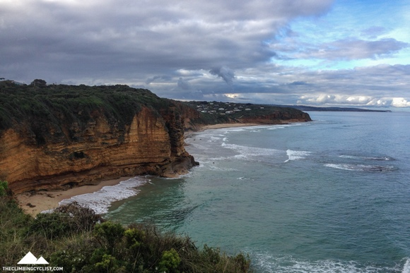 Ocean views from Aireys Inlet.