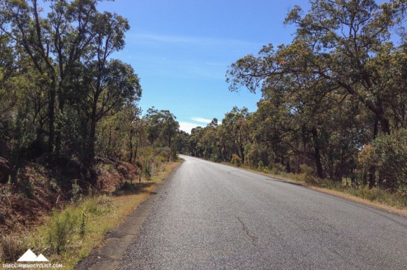 Beautiful quiet roads east of Perth.